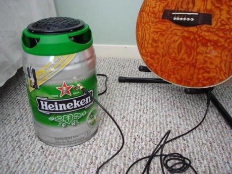 DIY Beer Speaker