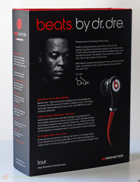 Beats Tour Review The Mobile Monster Beats By Dr Dre Ubergizmo