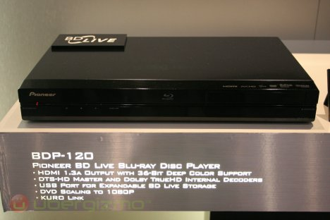 Pioneer BDP-120 Blu-ray Player
