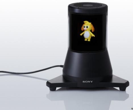 Sony to demonstrate holographic display