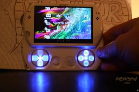 PSP Go modded