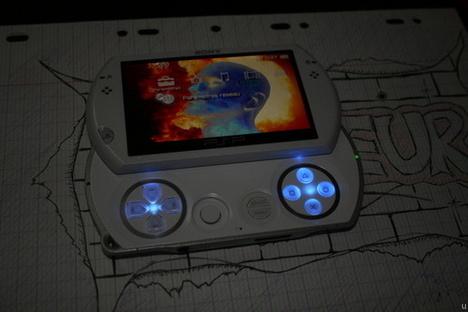 PSP Go modded again