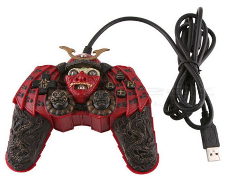 The Samurai Controller Sure Is Ugly