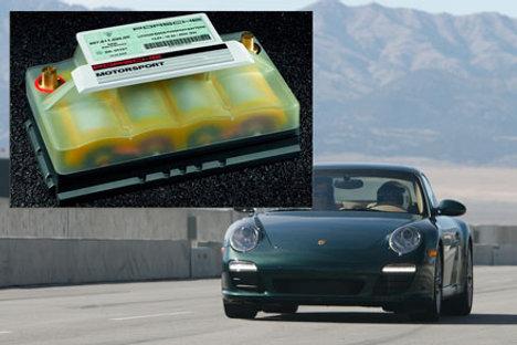 Porsche Shows Lithium-ion Car Battery