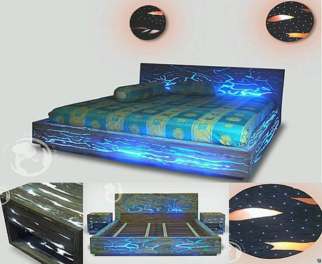 Expose LED bed
