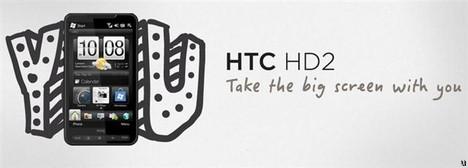 HTC HD2 announced