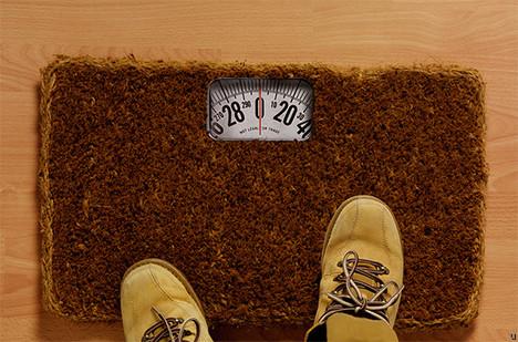 Doormat Scale
