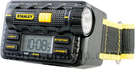 Stanley Wrist Watch With LED Flashlight