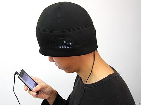 iHat MP3 Headphone Hat