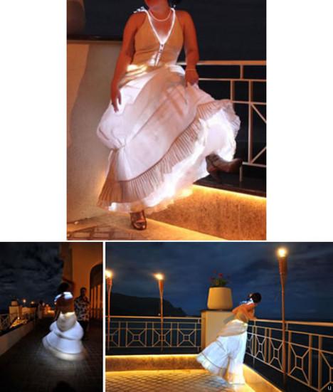 Lighted Wedding Dress