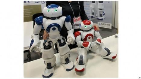 Nao interactive robot