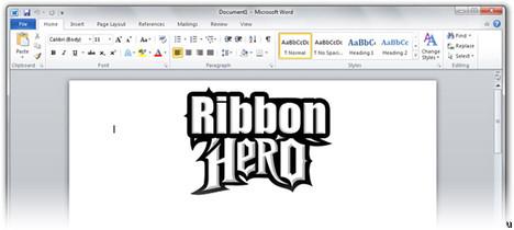 Ribbon Hero is a hoot