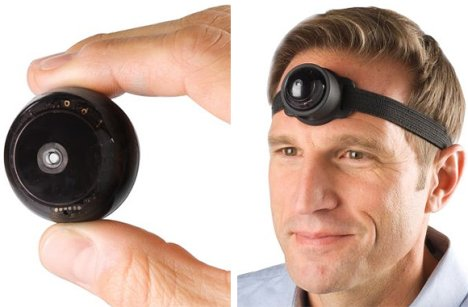 Third Eye Video Camera Looks Silly On Your Head