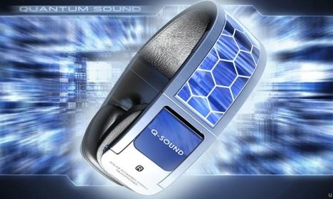 Solar Powered Headphones  with Bluetooth