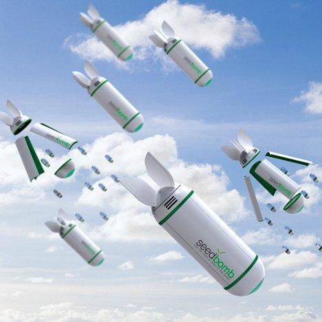 Seedbomb Helps Keep Earth Green