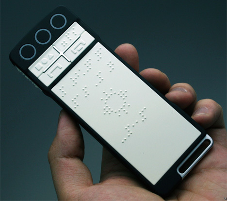 B-Touch Phone For The Blind