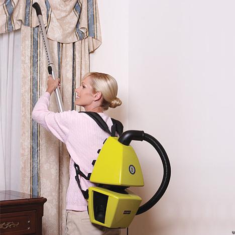 Ergonomic Backpack Vacuum