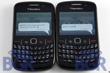 BlackBerry Curve 8520 Gets FCC Approval