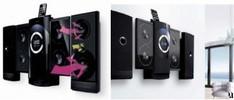 iLuv iMM9400 Vertical 4CD/MP3 Hi-Fi Audio System