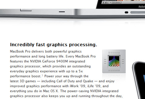 Apple Said to be 'Ditching' Nvidia (Rumor)