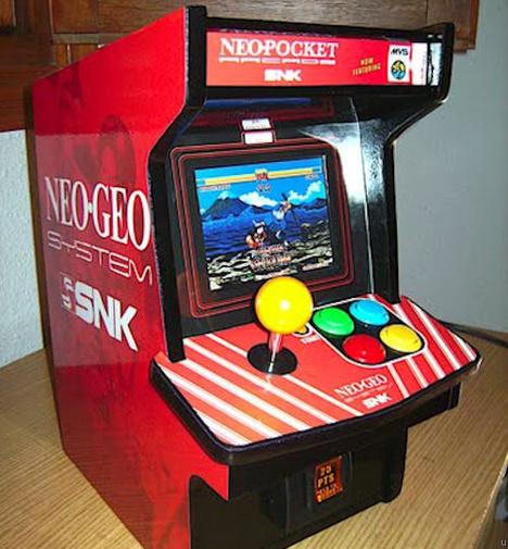 DIY Neo Geo cabinet mod