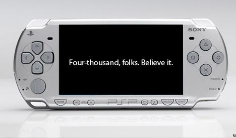 Sony PSP-4000 rumor