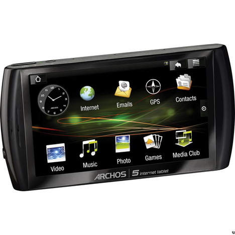 Archos 5, an Android Tablet