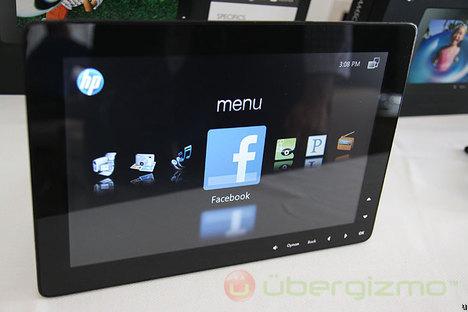 HP DreamScreen 100 and 130, live photos