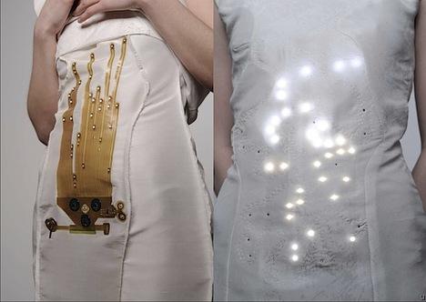 Breath-monitoring dress