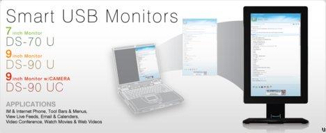 DoubleSight Displays Smart USB Monitor