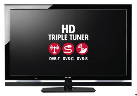 Sony Bravias get triple tuners