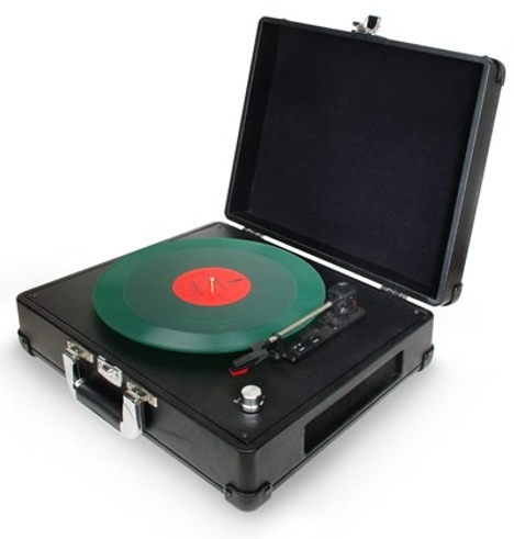 Briefcase USB Turntable