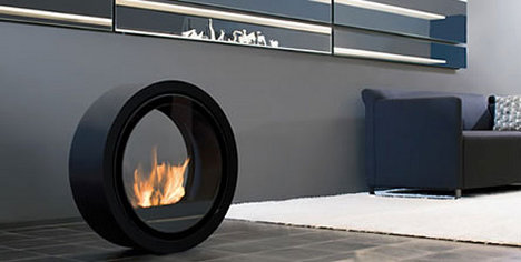 Roll Your Fireplace Around Your Livingroom