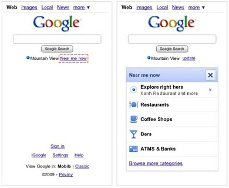 Google Introduces Local Search For Mobile