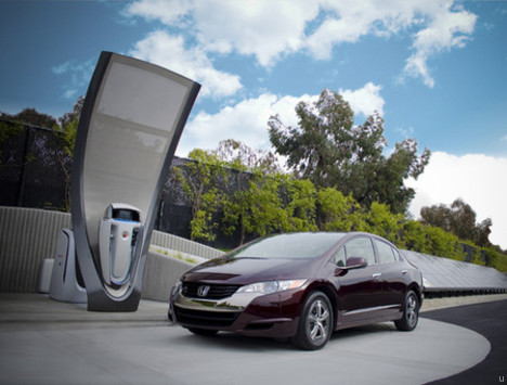 Honda unveils new solar hydrogen station