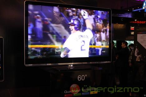 Sharp introduces Quad-Pixel HDTVs