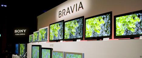 Sony Bravia EX700 series unveiled