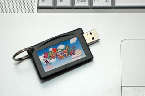 Game Boy Advance Flash Drive