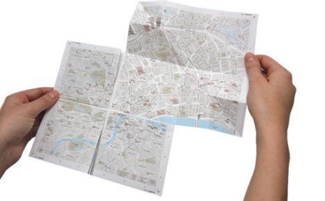 Zoom Into Paper Maps The Old Fashioned Way