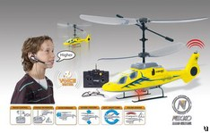 Nikko Voice-Heli does your spoken bidding