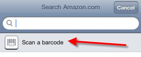 Amazon's iPhone App Now Supports Barcode Scanning To Make Purchases Easier