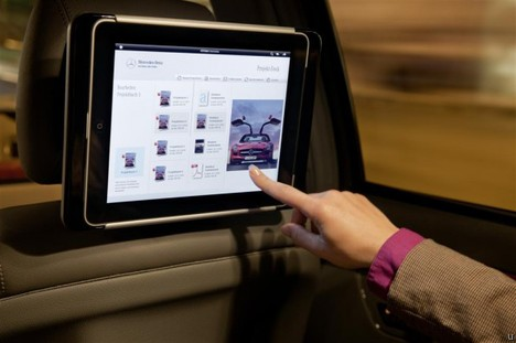 Mercedes Benz also jumps aboard iPad dock bandwagon