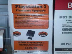 Best Buy charges $30 to upgrade your PS3 firmware