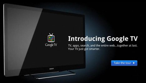 Official Google TV Site Launches