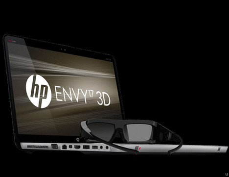 HP ENVY 17 3D and HP Wireless TV Connect hit the market