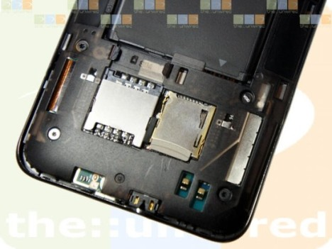 HTC HD7 Has Hidden microSD Memory Card Slot