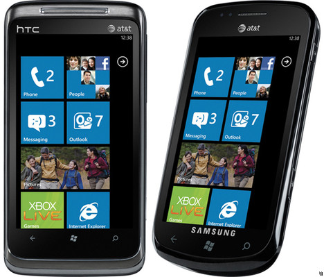 AT&T announces HTC Surround and Samsung Focus