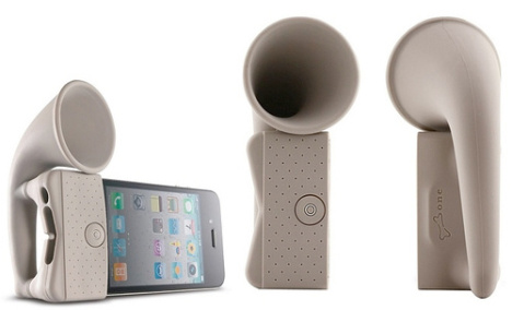 Gramophone Amplifier For Your iPhone