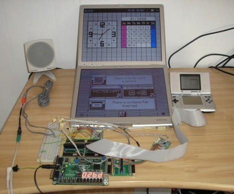 Jumbo Nintendo DS Screen project