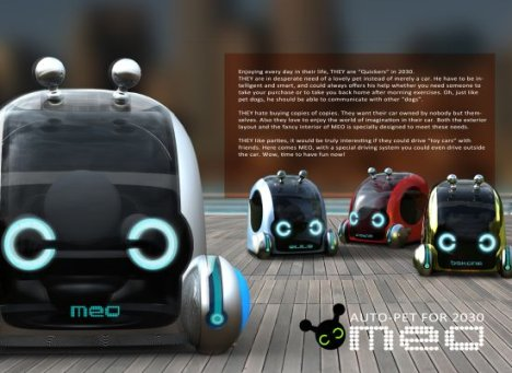 Concept: Meo Auto Pet For The Future
